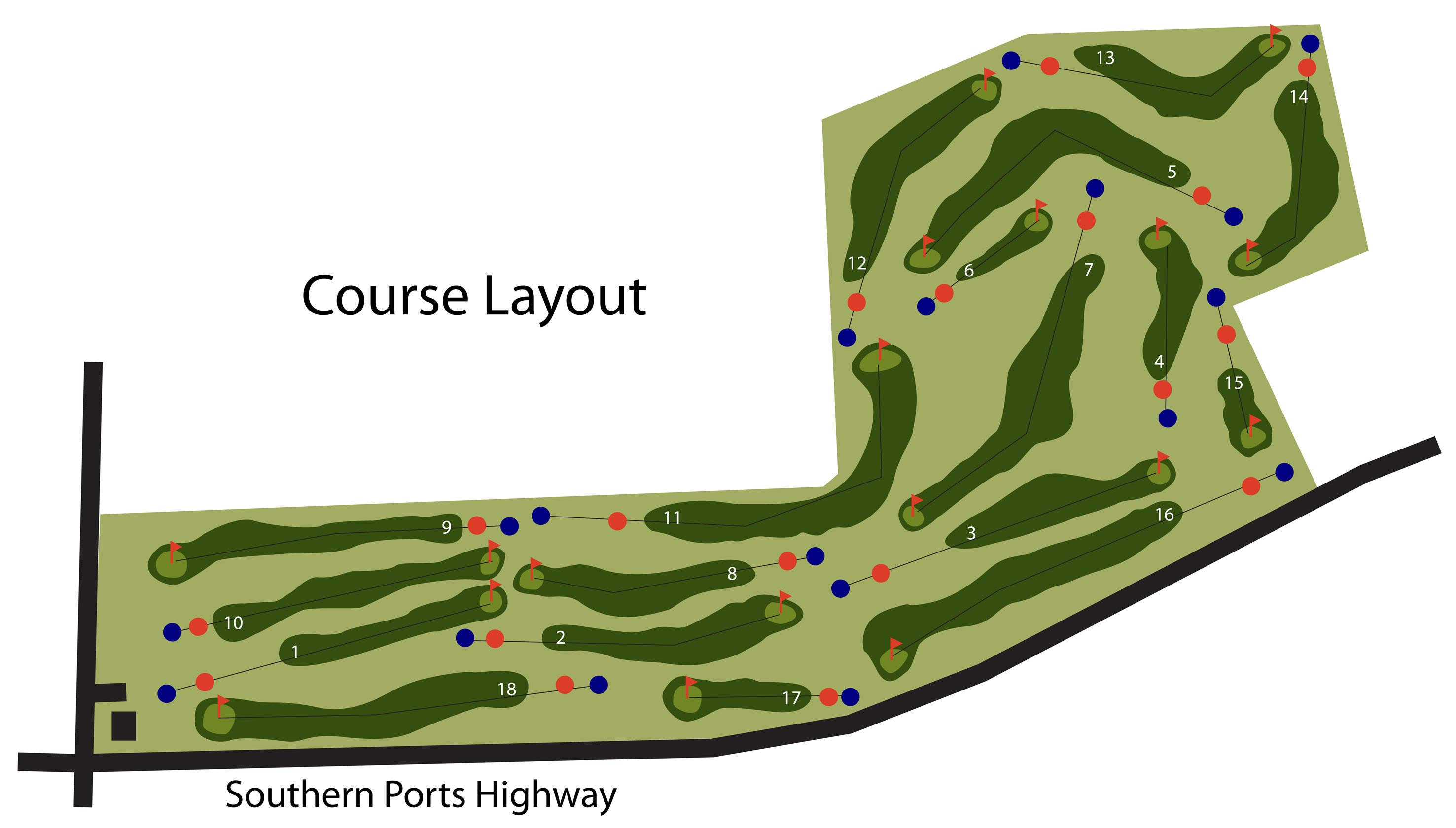 Kingston Golf Course Layout